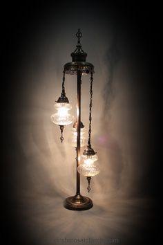 standing floor pyrex light | Mosaic Lamp, Floor Lamps,Turkish Lights, Table Lamps,Ceiling Light