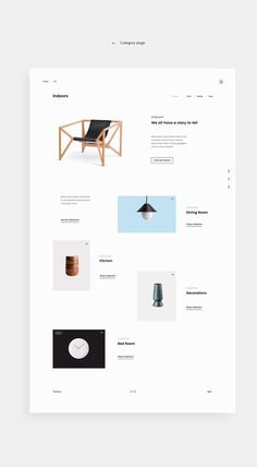 Minim E-commerce Website on Behance #simple #minimal