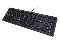 Ducky Shine 5 RGB LED Backlit Mechanical Keyboard (Black Cherry MX)