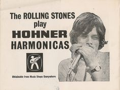 Hohner Harmonicas played by The Rolling Stones by Bradford Timeline, via Flickr