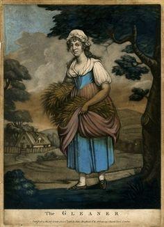 The Gleaner, 1798. British Museum 2010,7081.1091