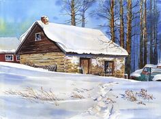 Snowbound..near Chipman, Alberta. Greg Johnson