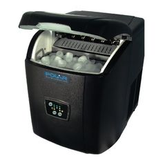 From 149.94 Polar Counter Top Ice Maker 10kg Output 380x305x380mm Black Manual Fill Machine