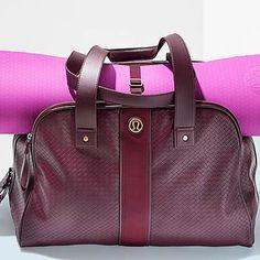 50 Healthy Holiday Gifts for Women- Brilliant bag: Lululemon Two Times a Yogi bag. | Health.com
