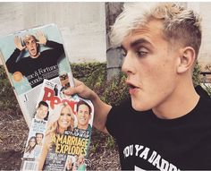 Jake Paul Jake Paul Hair, Logan Jake Paul, Jake Paul Team 10, This Is Love, Brad Pitt, Youtubers, Famous People, Husband, Celebs