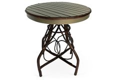 Rustic Bistro Table, Green/Espresso on OneKingsLane.com