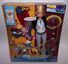 Barbie Doll My Scene It's A Teen Scene Day & Nite Over 25 Pieces Ages 6+ NIB #Barbie #Dolls