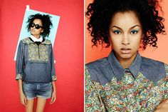 The Levi's & Liberty of London Collaboration is Bold and Co #fashion trendhunter.com