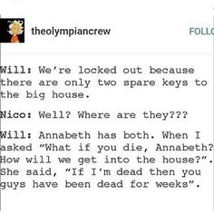 "Gefällt 961 Mal, 4 Kommentare - Am I Dead Yet? (@omg_imawitch_and_imademigod) auf Instagram: ""Honestly though - - - - #pjo #hoo #willsolace #nicodiangelo #solangelo #annabethchase #percyjackson…"""