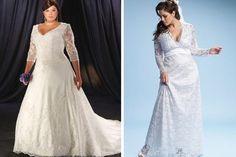 Conheça os vestidos plus size de noivas. Veja os modelos preferidos dos vestidos plus size de noivas, os novos estilos e inspirações para você escolher.