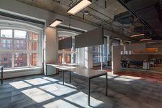 loft interior design Align Technology, Loft Interior Design, Loft Interiors, Conference Room, Divider, Table, Furniture, Home Decor, Decoration Home