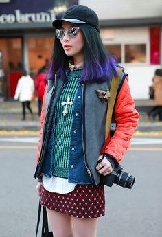Those darn fashionable asians. Love them...
