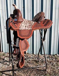 My Bob Marshall Saddle's photo. Cowgirl And Horse, Western Horse Tack, Horse Barns, Horse Love, Western Saddles, Barrel Racing Saddles, Barrel Saddle, Barrel Horse, Horse Saddles