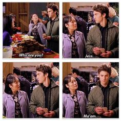 Jess should have been sent to Ms.Kim instead of Luke.