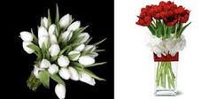 Image result for wedding bouquets tulips and roses