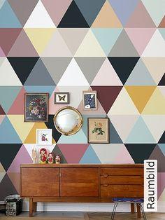 Bild: Tapeten - Mosaic, soft