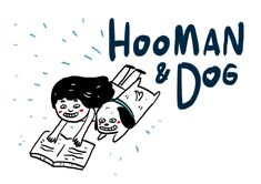 Hooman and Doggo - Title Card Man And Dog, Title Card, Nice, Dogs, Cards, Fictional Characters, Pet Dogs, Doggies, Maps