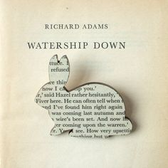 Watership Down brooch ($16). | 35 Impossibly Clever Pieces Of Jewelry Inspired By Books