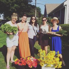 Things that really happened: Nicole's wedding week. Those Australian girls who bought all the flowers.