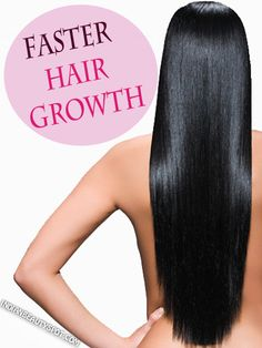 FASTER HAIR GROWTH - Learning how to make your hair grow faster naturally is easy, you just have to use this simple at-home hair treatment to see improvement in your hair's length and health. Read on and take notes. Diy Masque, Hair Growth Treatment, Hair Treatments, Natural Hair Styles, Long Hair Styles, Hair Growth Tips, Hair Remedies, Natural Remedies, Tips Belleza