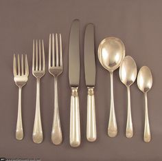 Browse our extensive selection of Birks Sterling Saxon Pattern Flatware in our Open Stock category. Vintage Birks sterling flatware in superb condition Danish Modern, Bone China, Flatware, Scandinavian, Antiques, Pattern, Vintage, Cutlery Set, Antiquities