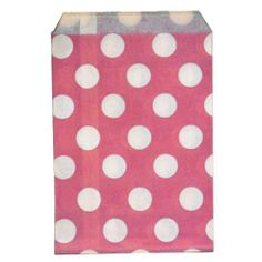 Dress My Cupcake 24-Pack Favor Bags, Pink with White Dots by Dress My Cupcake. $13.70. Favor Bags are biodegradable. Bags have a flat pinched bottom with no side gusset. Favor bags are perfect for weddings, birthdays, baby showers, candy buffets and more A great way to add flare to your event. Distributed by Dress My Cupcake, the world's largest dessert table supplies company. Pair this with other best-selling Dress My Cupcake products, such as cupcake wrappers and liners, stand...