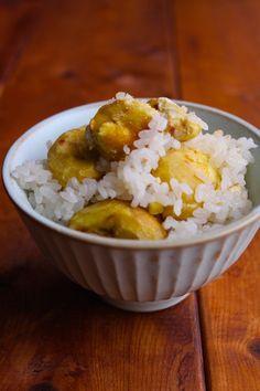 調味料2つ!「簡単栗ご飯」 LIMIA (リミア) #グルメ #料理 #レシピ Asian Desserts, Japanese Food, Food And Drink, Rice, Sweets, Meals, Cooking, Recipes, Food
