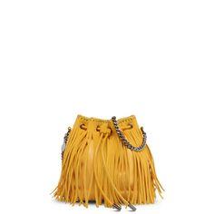 Falabella Sun Fringed Bucket Bag - Stella Mccartney Official Online Store - SS 2016