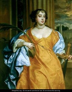 Barbara Villiers Duchess of Cleveland as St. Catherine of Alexandria - Sir Peter Lely  sc 1 st  Pinterest : anna of nell gwynn crossword - 25forcollege.com