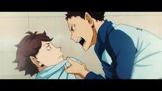 anime: haikyuu #iwaizunmi #oikawa #haikyuu Oikawa X Iwaizumi, Iwaoi, Anime Cat Boy, Happy Pills, Anime Ships, Haikyuu, Manga, Art, Anime Characters