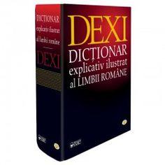 Dictionar explicativ ilustrat al limbii romane - DEXI Books, Rome, Libros, Book, Book Illustrations, Libri