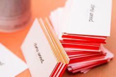 покраска торца визитки