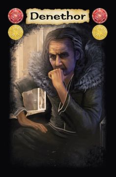 Here is our first LOTR card game artwork preview of 2013; Denethor. Artwork by Suzanne Helmigh.   The Lord of the Rings card game will be released by Sophisticated Games in 2013