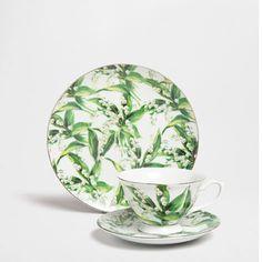 FLORAL PORCELAIN SET - Dinnerware - Tableware | Zara Home Finland