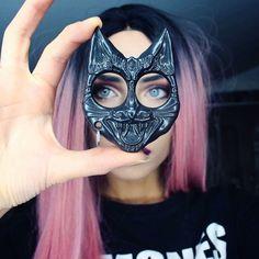 Self Defense - Defense Kitty Key Chain- Black