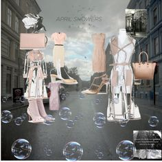 """sINGING and dANCING in tHE rAIN!"" by gygriggs ❤ liked on Polyvore"