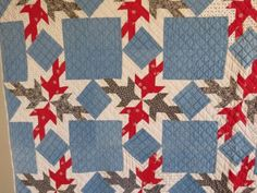Vintage Antique HandmadeQuilt Dove In A Window Late 1800s