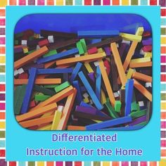 differentiated instruction for the home can make homeschooling a little more pleasant. Find strategies that alleviate the burden of teaching across several grades.