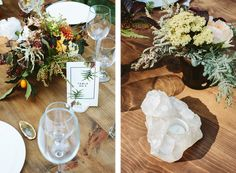 #bigsurwedding #henrymillerlibrary #bigsur #forestwedding #redwoods #tablesettings