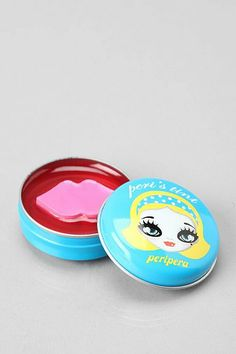 Cute-n-colorful lip balm from Korea. A hard-to-find cult favorite Peripera, Peri's Tint is a lightweight, super-hydrating balm that delivers. Tinted Lip Balm, Lip Tint, Asian Make Up, Kawaii Makeup, Beauty Hacks Video, Beauty Tricks, Salon Names, Soft Lips, Cute Packaging