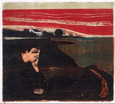 Edvard Munch - Evening (Melancholy I)