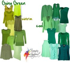 Going Green, Imogen Lamport, Wardrobe Therapy, Inside out Style, Blog--warm colors work best for me