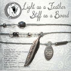 Never Take It Off — Light as a Feather Stiff as a Baord NTIO Bracelet ~ Sterling Silver Tag