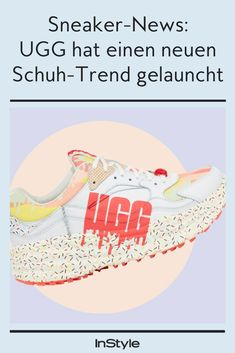 So sieht er aus, der neue UGG-Sneaker. Er zieht seine Inspiration vom beliebten Sundae-Eis #instyle #instylegermany #fashion #ugg #sneaker #schuhtrend Ugg Sneakers, Surfer, Words, Inspiration, New Shoes, New Fashion Trends, Styling Tips, Ice, Biblical Inspiration