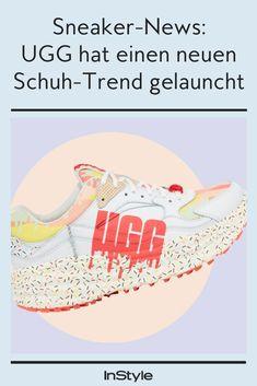 So sieht er aus, der neue UGG-Sneaker. Er zieht seine Inspiration vom beliebten Sundae-Eis #instyle #instylegermany #fashion #ugg #sneaker #schuhtrend