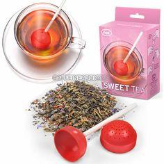 SWEET TEA INFUSER CUTE LOLLIPOP CANDY LOOSE LEAF LEAVES MUG STEEPER CUP STRAINER #FredFriends