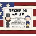 This is a great mini unit to teach your kids about Presidents Day. Read and learn about some of the most famous presidents, with a focus on Abraham...