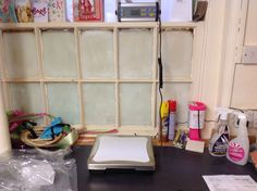 Gearing up to our big venture on to the internet. Our new weighing scales in our stock room.