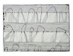 Hanns Schimansky o.T. 2011 Tusche/Feder/Pinsel auf Papier 29,8 x 41,5cm