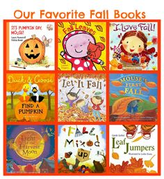 Great Fall Books for Kids! #preschool #toddlers #fall